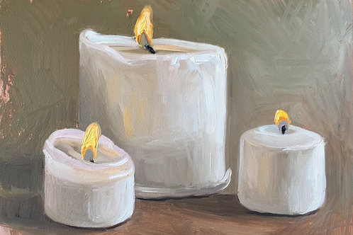 """""""Candle Sketch"""" 12/17/19"""