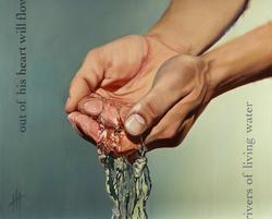Rivers of Living Water III (SOLD)