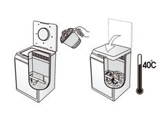 ใช้งานง่ายสะดวก แค่แยกน้ำและไส่ลงถัง ไส่เศษอาหารได้ตลอดไม่ต้องทำเป็นรอบๆ