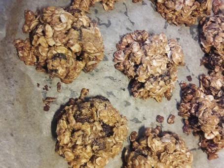 Quinoa Oatmeal Raisin Cookies (Vegan, Gluten Free)