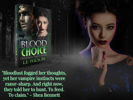 Blood Choice is LIVE!