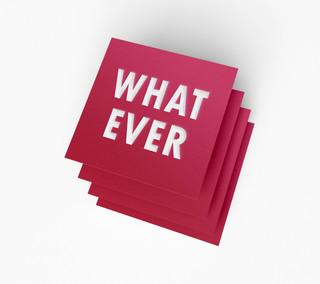Typography - Papercut