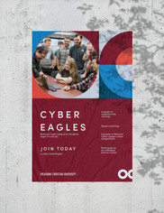 Cyber Eagles Poster