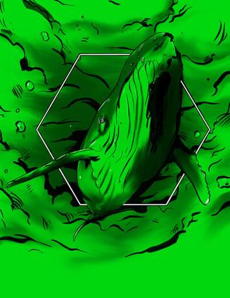 Survive- whale Base Art