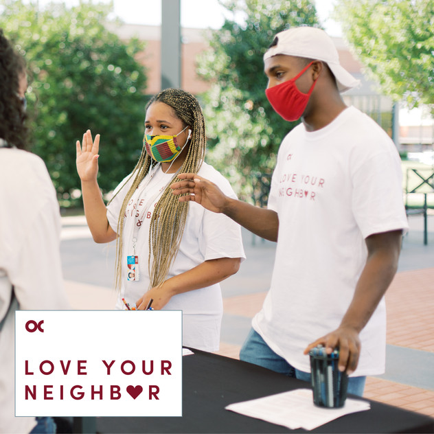 Love Your Neighbor- COVID Campaign