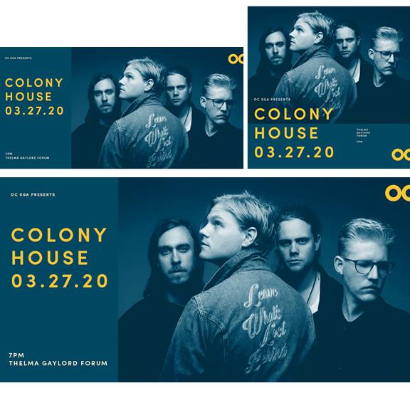 Colony House (Blue Social Graphics)