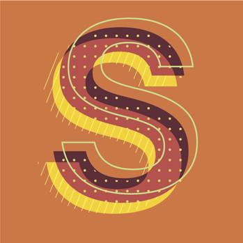 """Letter """"S"""" Design"""