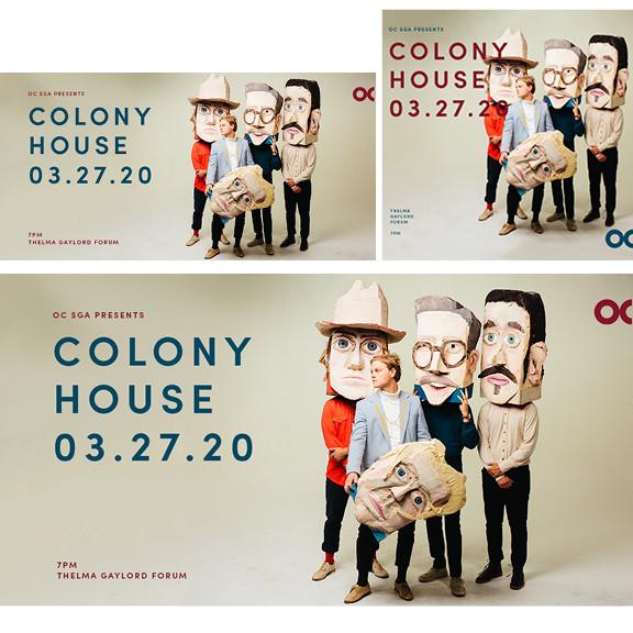 Colony House (Tan Social Graphics)