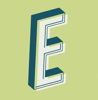 """Letter """"E"""" Design"""