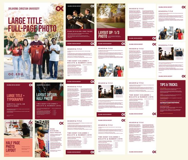 Campus Flyer/Document Template Design