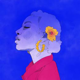 Dominique's Blue Sun
