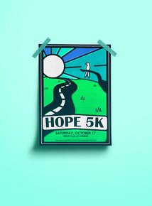 Hope 5K Poster Idea