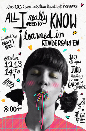 All I Need to Know I Learned in Kndergarten Poster Redesign