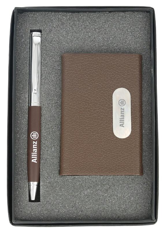 Pen and Card holder Gift set