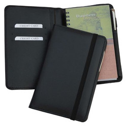 Leather Diary Black