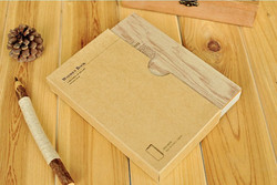 Hot-sale-casual-style-kawaii-fashion-sweet-antique-sweet-novelty-diary-wood-grain-font-b-cover
