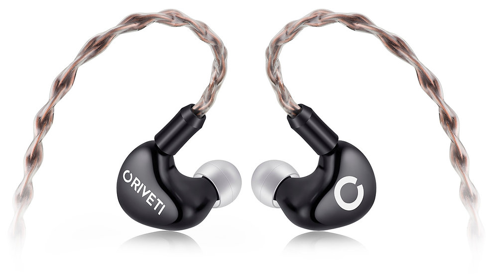 ORIVETI OH300 - Premium 2+1 Hybrid HiFi IEM Headphones