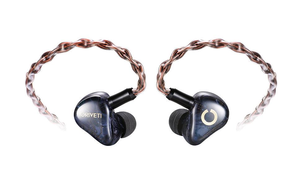 ORIVETI O400 - Premium 4BA HiFi IEM Headphones