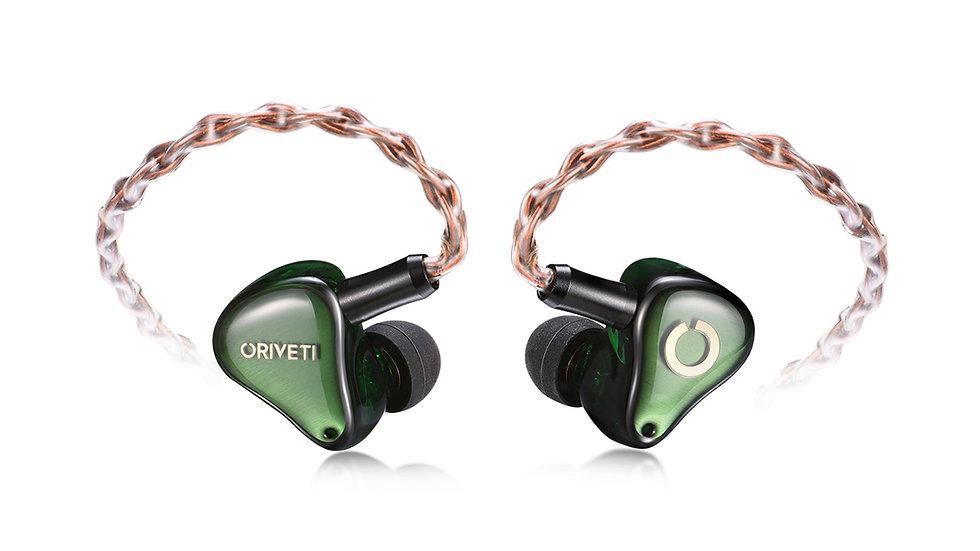 ORIVETI O800 - Premium 8BA HiFi IEM Headphones