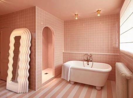 Bathroom design ideas for blush pink lovers