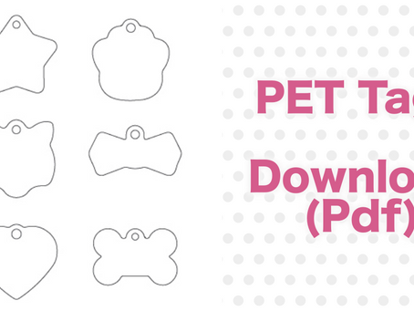 Download Pet Tags for handmade collar