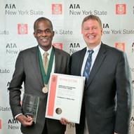 Terrence O'Neal awarded The Kideney Gold Medal Award