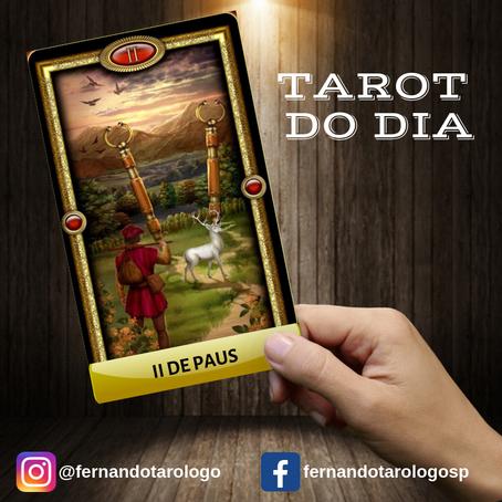 TAROT DO DIA 30/08/2019 - II DE PAUS