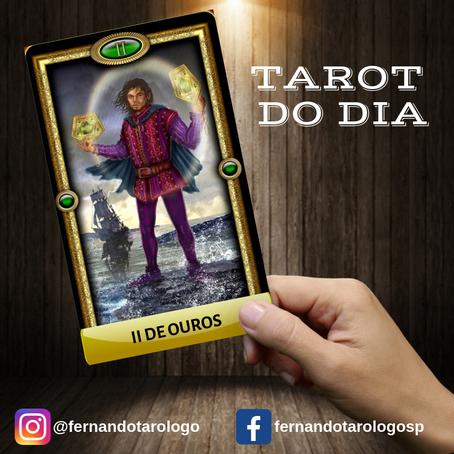 TAROT DO DIA 01/09/2019 - II DE OUROS