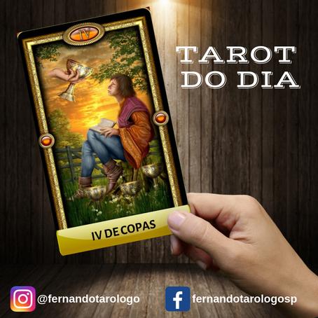 TAROT DO DIA 05/09/2019 - IV DE COPAS