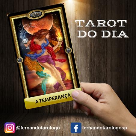 TAROT DO DIA 19/09/2019 - A TEMPERANÇA