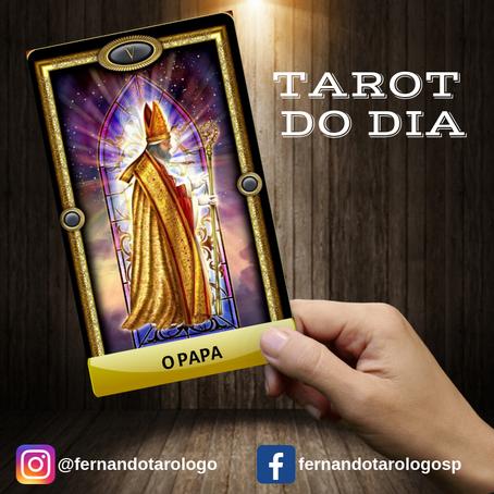 TAROT DO DIA 12/09/2019 - O PAPA