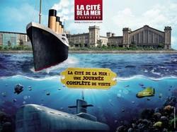 Affiche-Cité-de-la-mer-Cherbourg