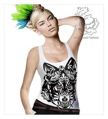 KYU-collection,shirt design, fashion print