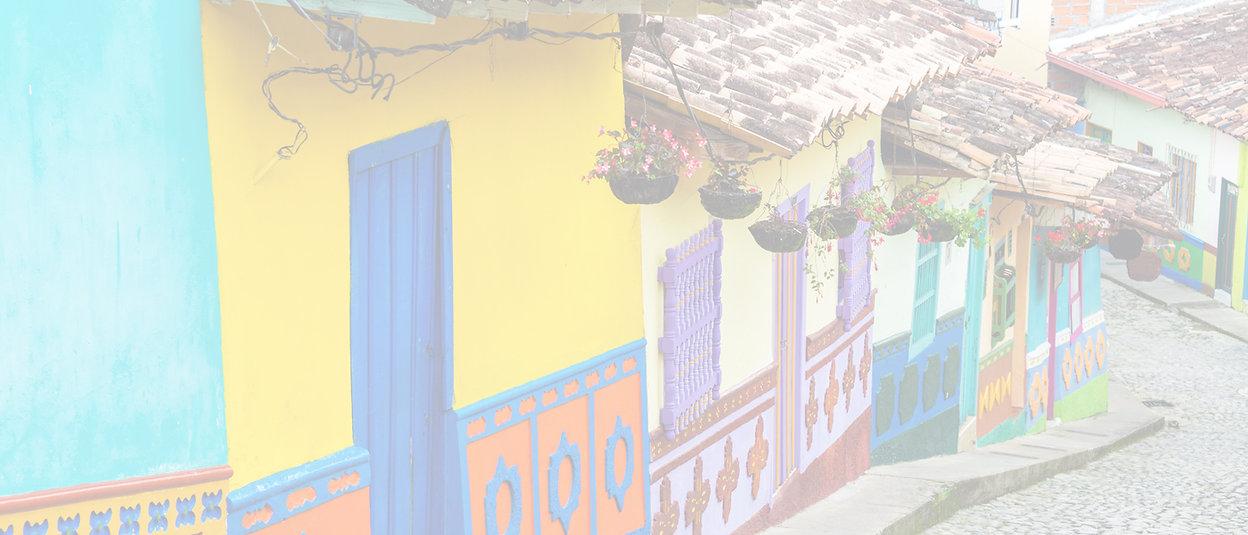 Colombie rues colorées