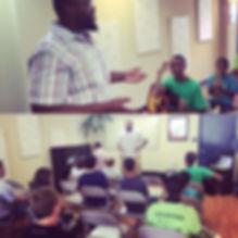 I had a blast teaching at the Brevard Ja