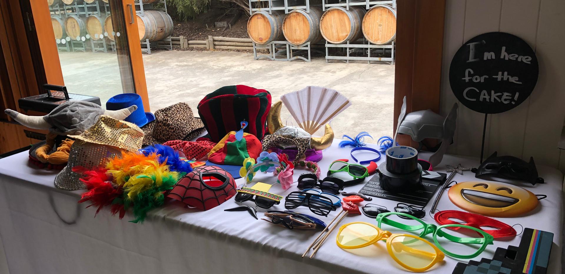 Nice Props Setup at a Winery