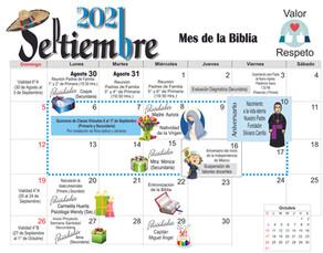 Calendario CGG
