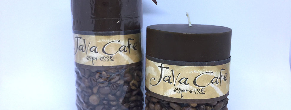 Java Cafe Candle