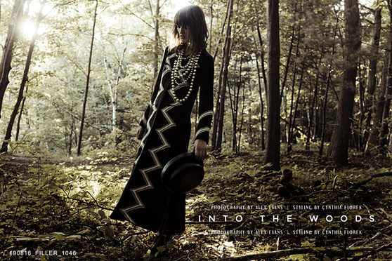INTO THE WOODS / FILLER MAGAZINE