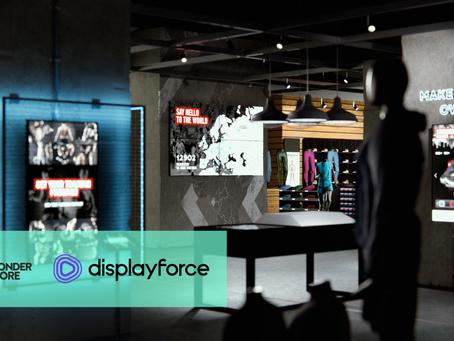 Wonderstore partners with Displayforce