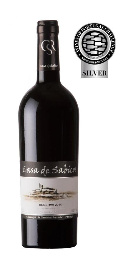 Medalha de Prata para o Casa de Sabicos Reserva 2014 no  Concurso Vinhos de Portugal 2018