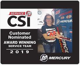 Mercury CSI Award