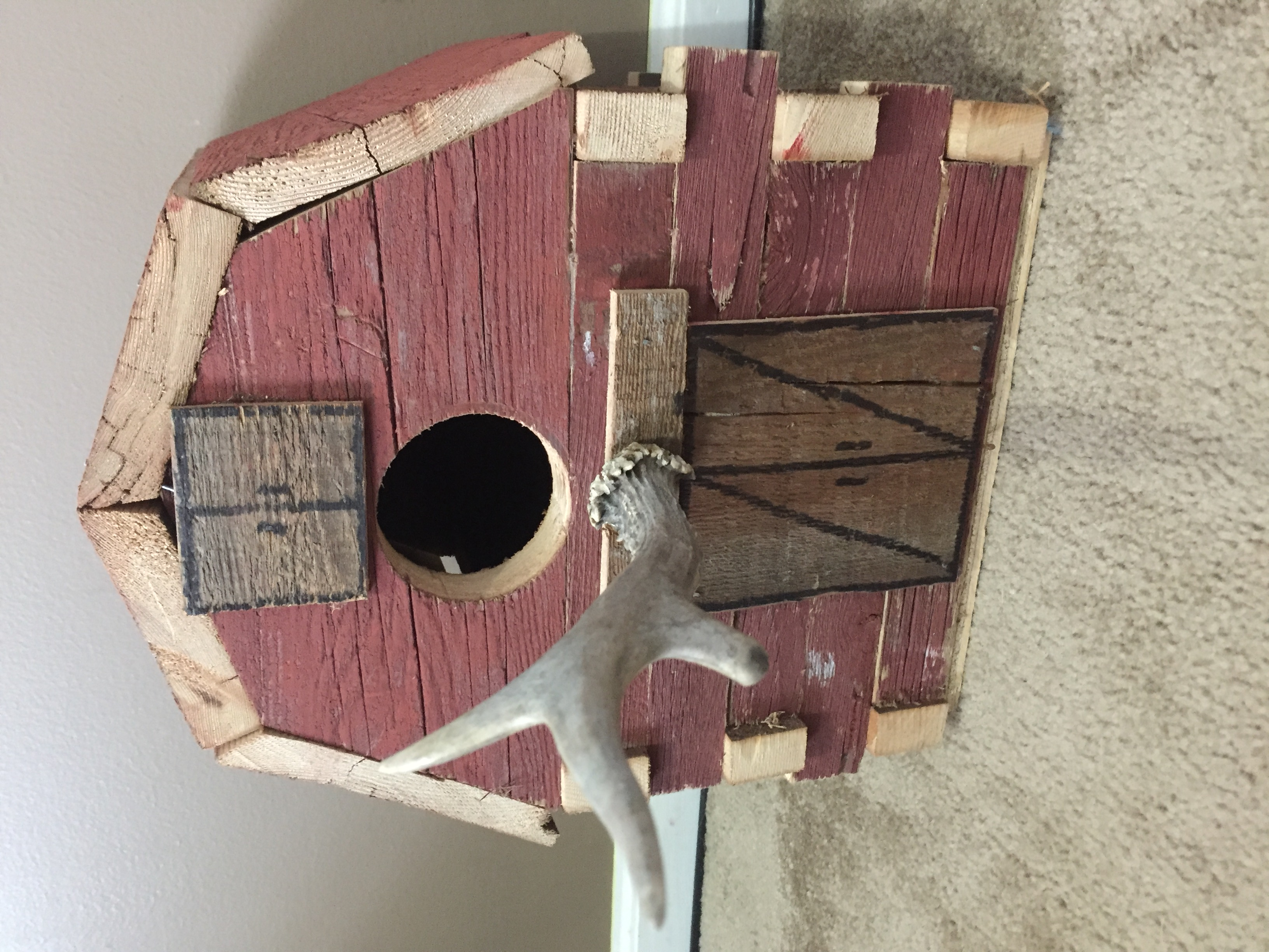 Barn Wood Barn Style Bird House