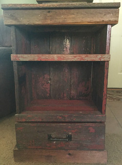 Rustic Night Stand or Side Table