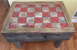 Checker Board Style Coffee Table
