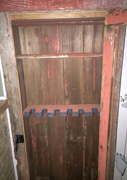Red Barn Wood Gun Cabinet