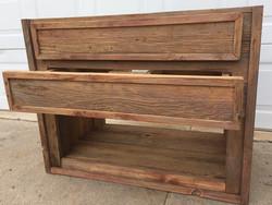 Custom Barn Wood Vanity