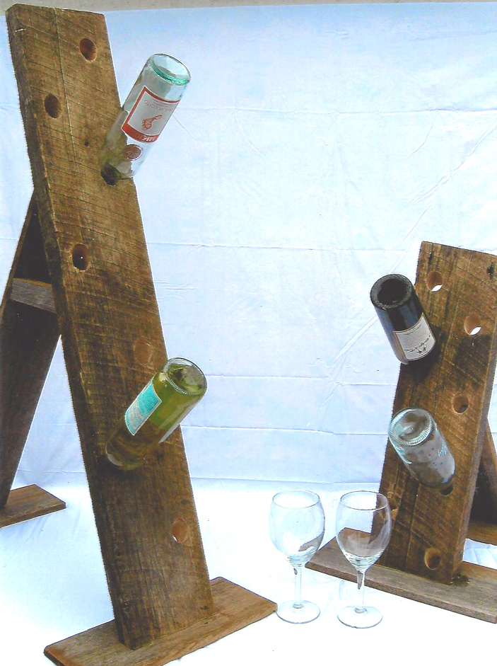 Sandwich Stand Wine Bottle Holder