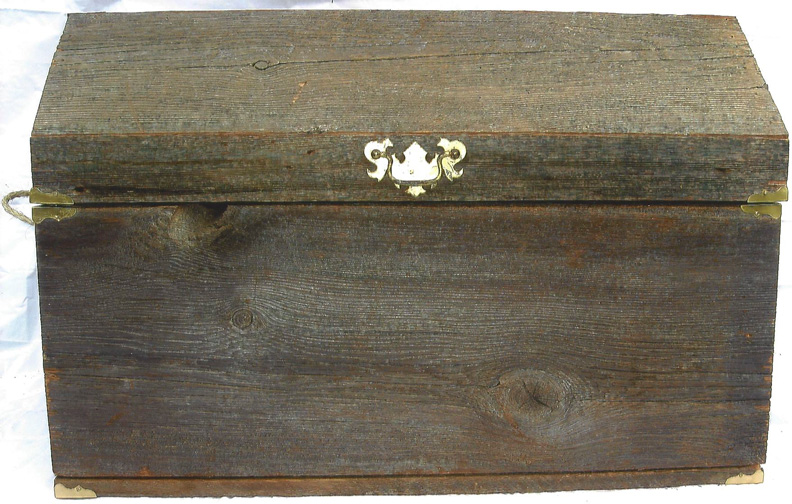 Flat Top Chest Storage Trunk