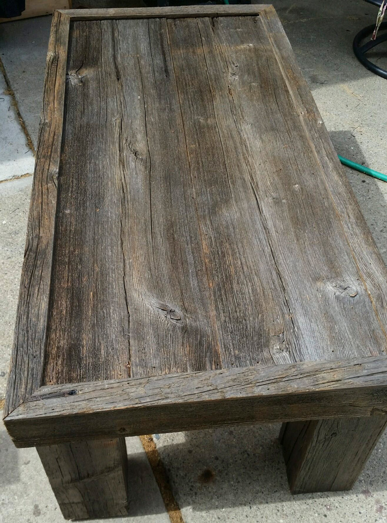 Rustic Barn Wood Coffee Table
